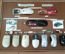 """Visual Stand """"Evolution of the Computer Mouse"""""""