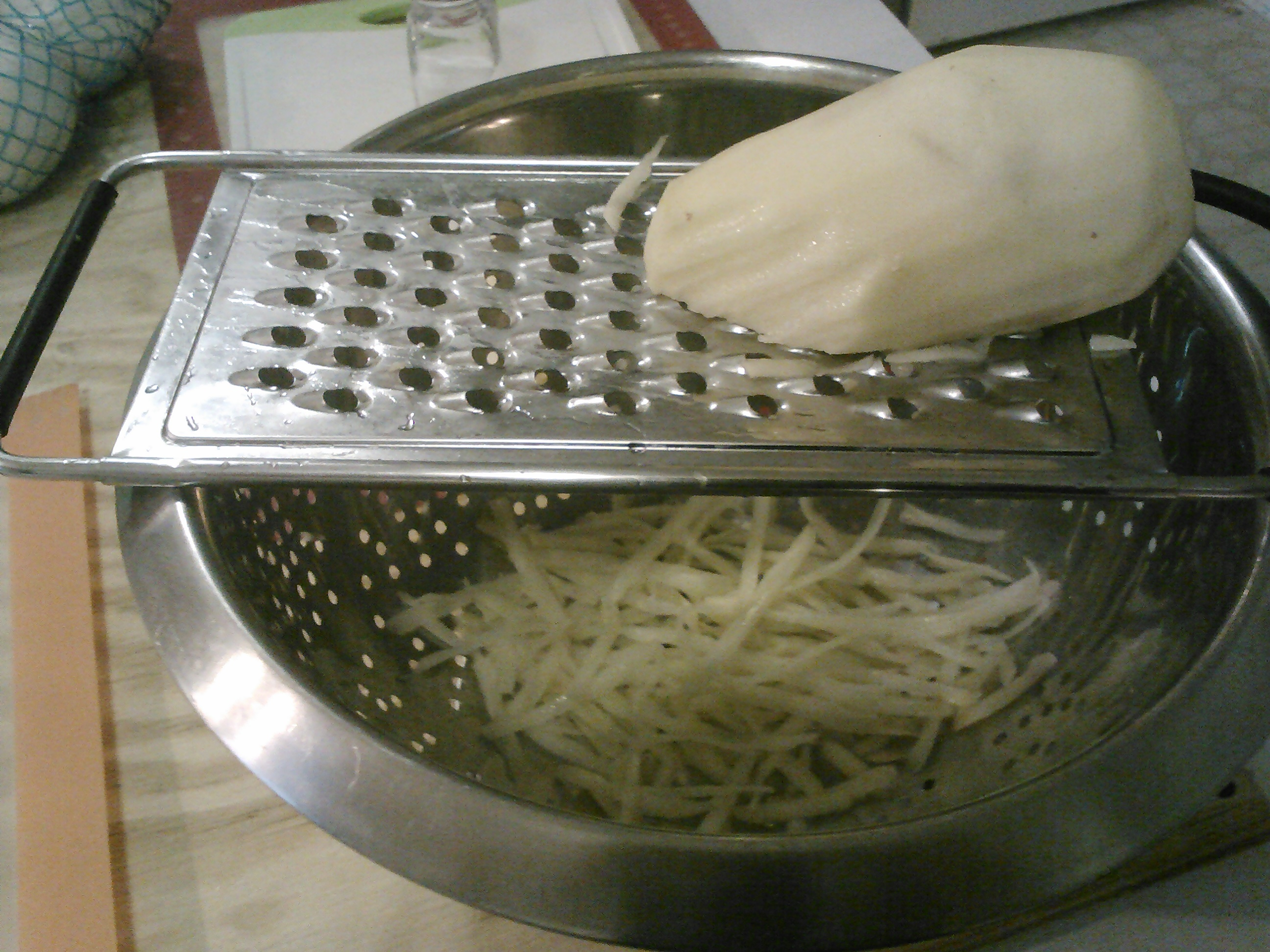Picture of Peel, Grate, Mix