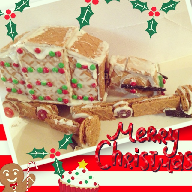 Picture of Gingerbread Star Wars AT-AT Walker