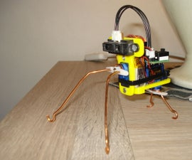 ATtiny85 Robot Insect