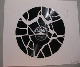Broken Record = Easy Art!