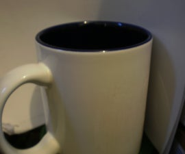 Change coffee cup emblem/wording