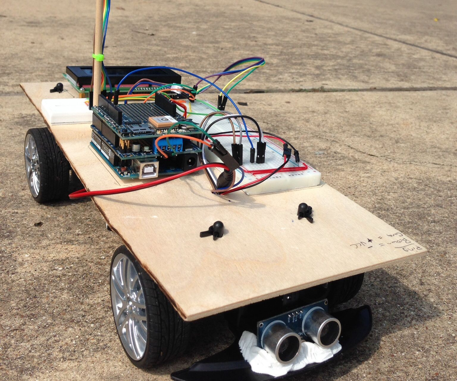 Arduino Powered Autonomous Vehicle: 12 Steps (with Pictures)
