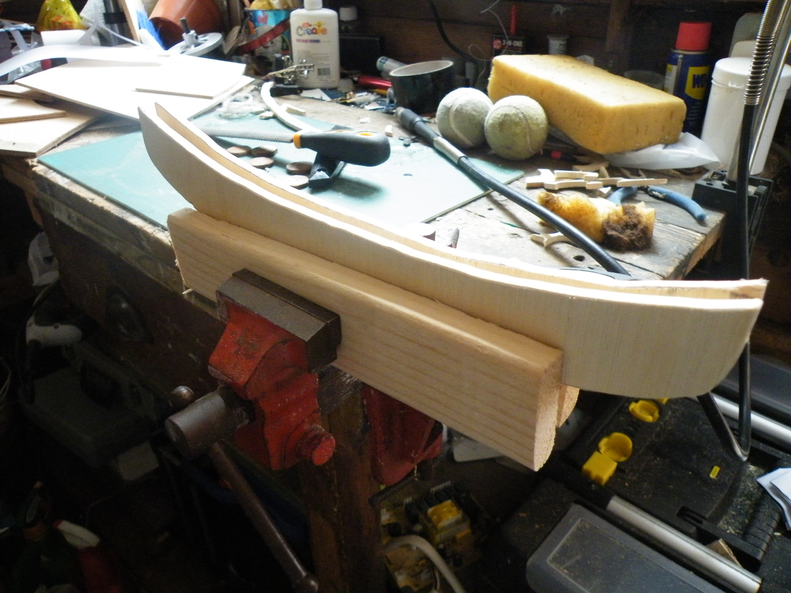 Picture of Shaping and Finishing.