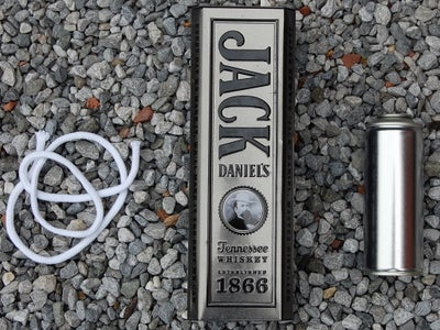 Jack Daniels Oil Lamp