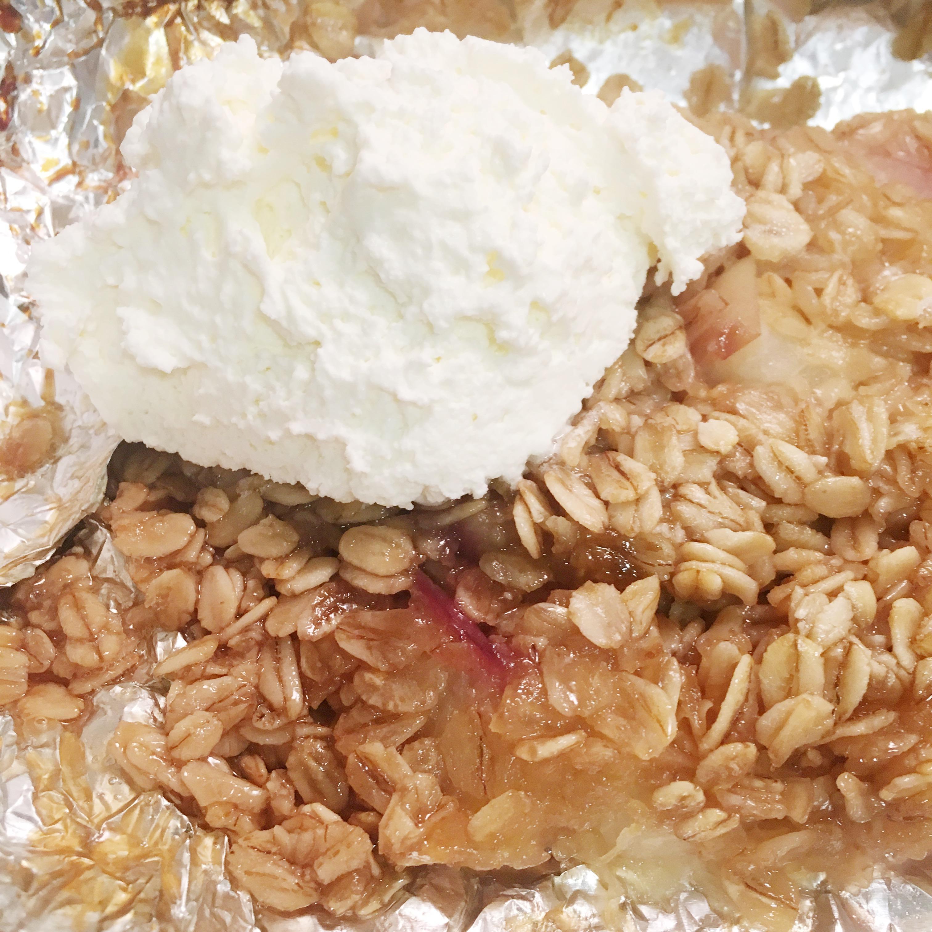 Picture of Foil Packet Peach Crisp