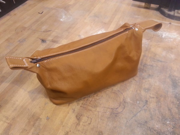 Leather Wash / Toiletries Bag