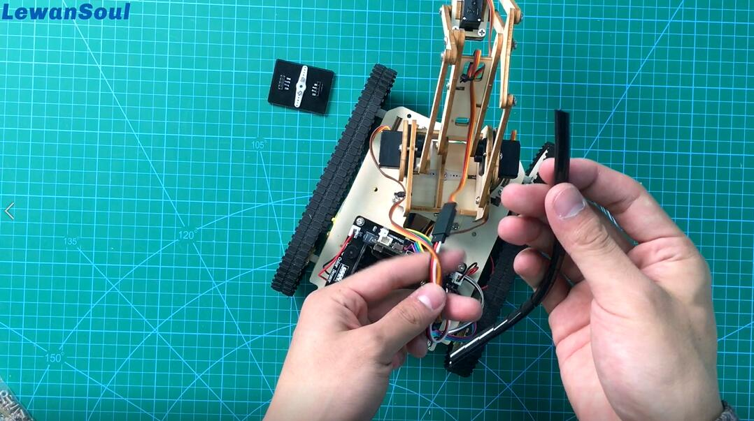 Picture of The Assembly of Armbit ( Robot Arm)_7