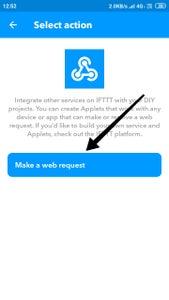 Setup IFTTT