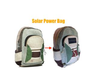 Placa Solar USB Para Mochila