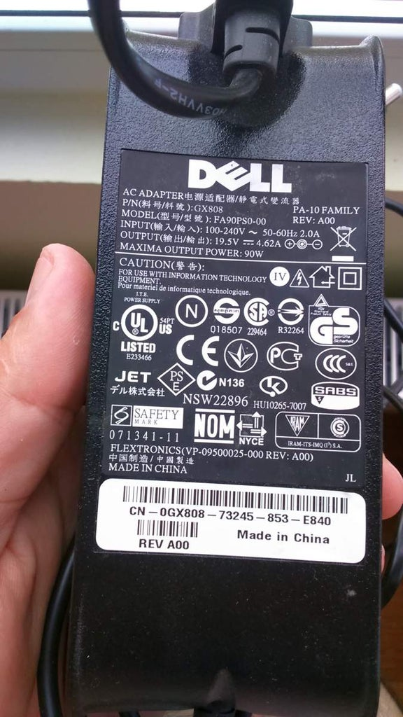 [CSDW_4250]   Modify a Dell Laptop Power Supply (PA-10) : 6 Steps - Instructables | Dell Laptop Power Supply Wiring Diagram |  | Instructables
