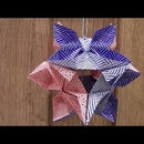 Origami Kusudama Diamond Flower Tutorial