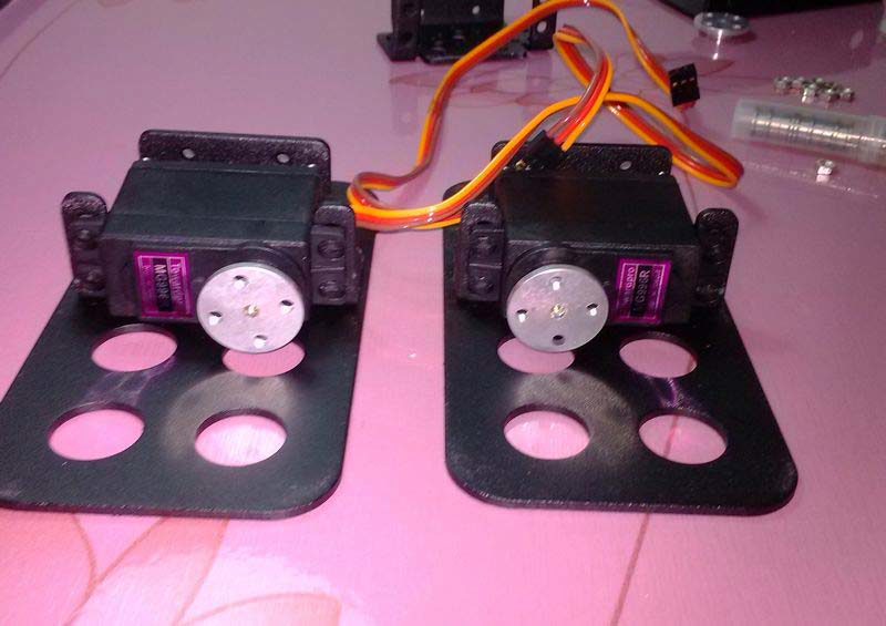 Picture of Install Two Servos