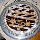 Traditional Raspberry Pie:  a Linzertorte or Linzer Torte