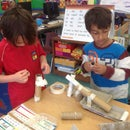 Rube Goldberg Inspired Marble Roll - 1st Grade Tinkering - Week 8