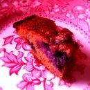 Yummiest ever, Moist Almond Berry Cake: Gluten/Cane Sugar/Dairy Free