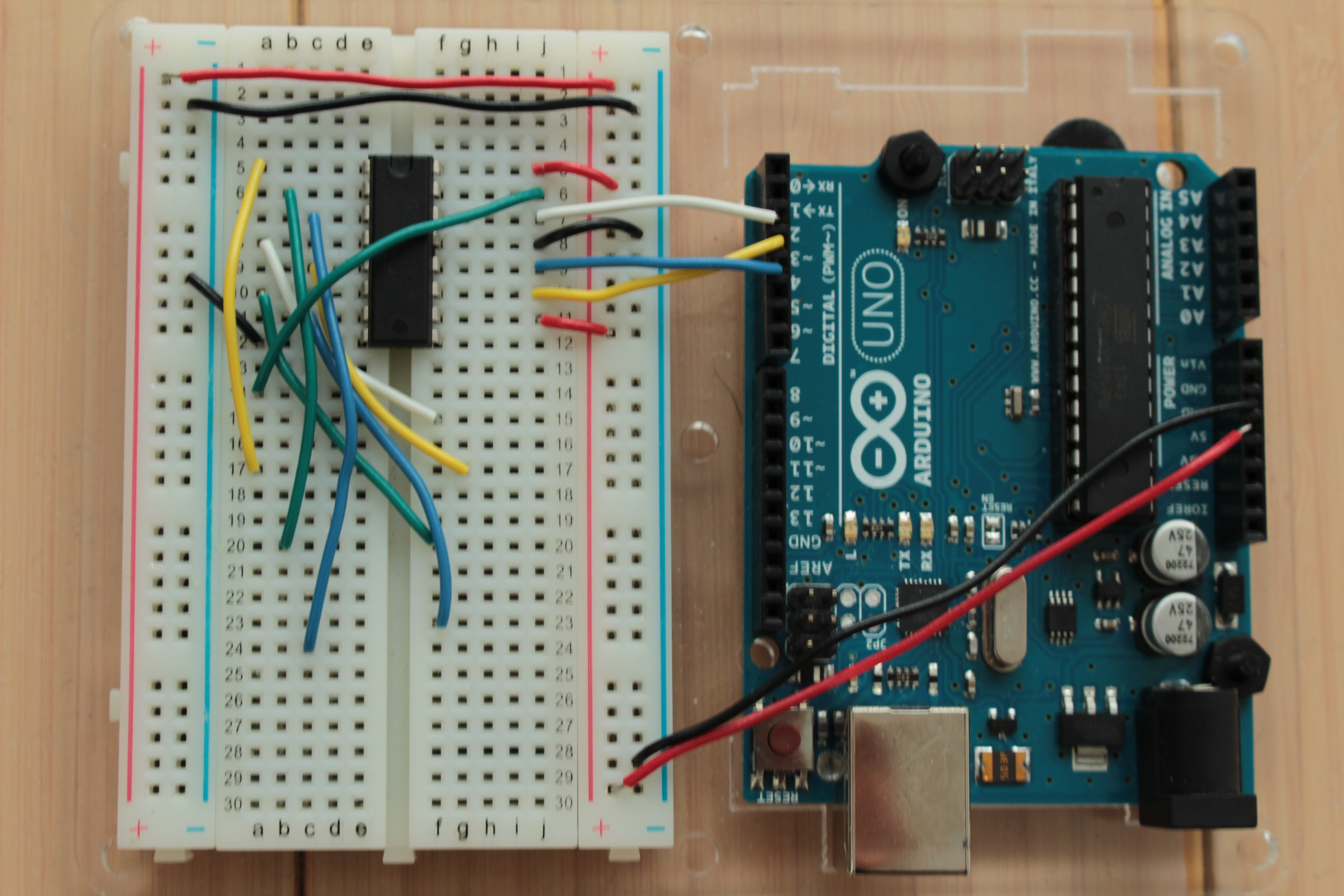 Picture of Wiring Your Breadboard