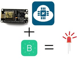Simple Led Control With Blynk and NodeMCU Esp8266 12E