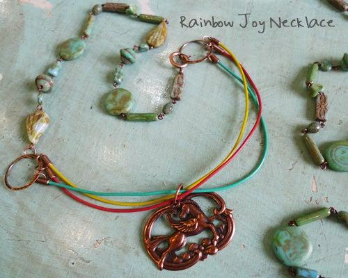 Rainbow Joy Necklace