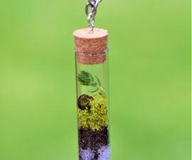 Succulent Terrarium Necklace