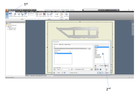 Create a 2D Drawing From Your 3D Part in Inventor
