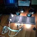 Simple solar-powered QRP transmitter