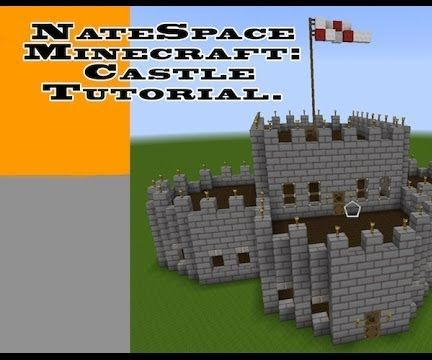 Minecraft Castle Building Tutorial Instructables