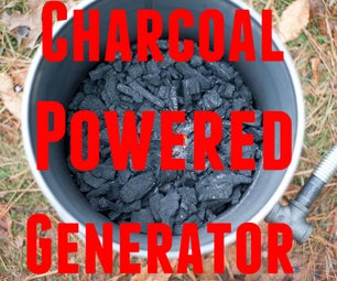 Charcoal Powered Generator - Gasifier