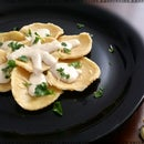 Corzetti With Creamy Walnut Sauce