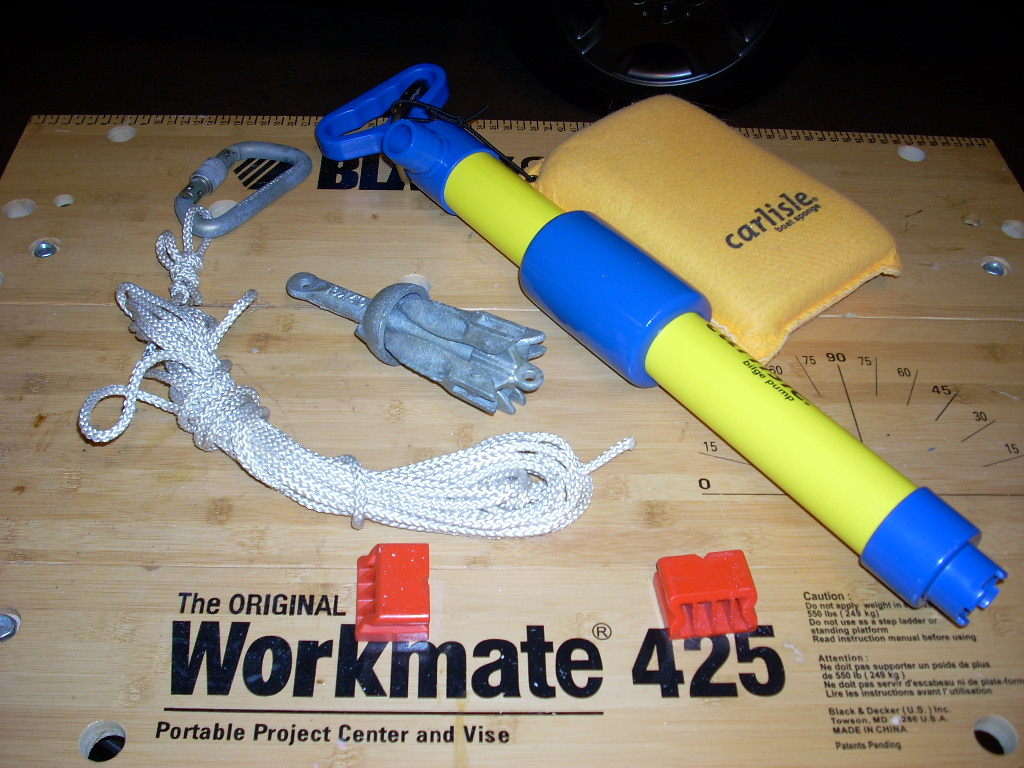 Picture of Water Bailing and Anchoring Kit