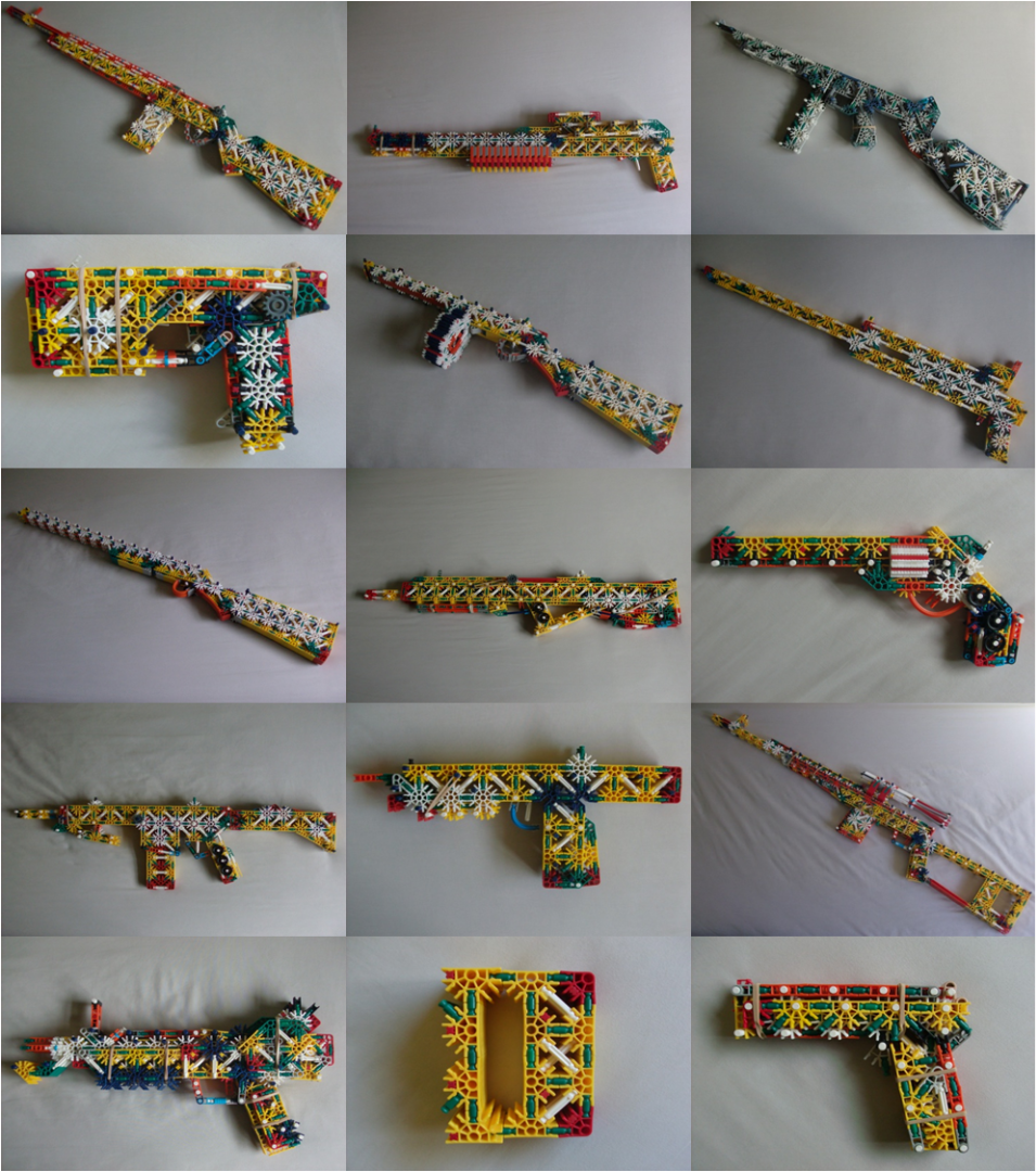 Picture of My K'nex Weapons of 2013 & 2014