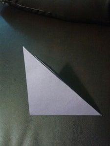 Fold the Triangle Into a Smaller Triangle