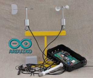 Arduino GPRS Weather Station - Part 2: Upgraded Wind Sensors and Improved Energy Efficiency