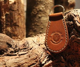 Making a Leather Key Fob