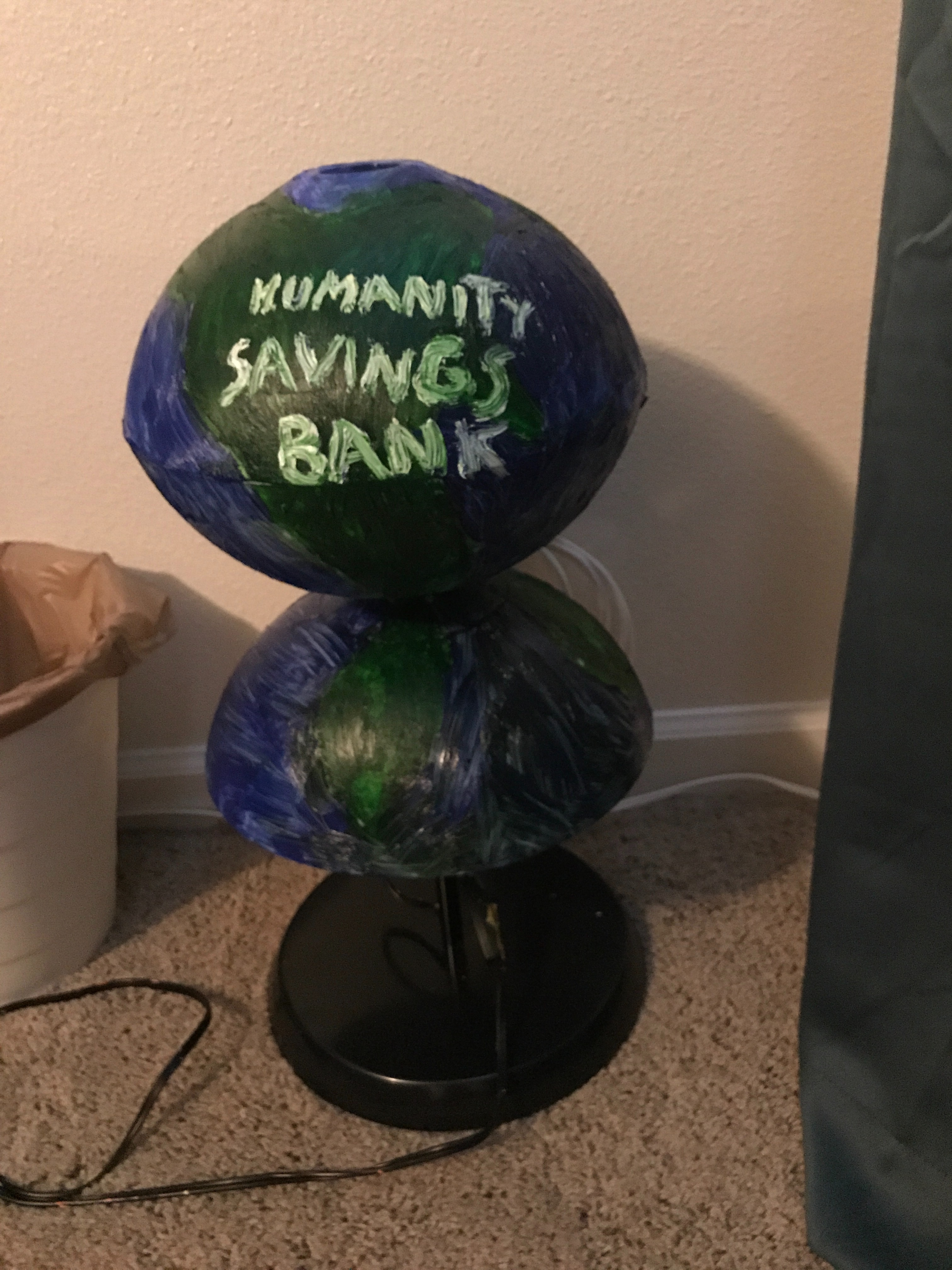 Picture of Humanity Savings Bank (Piggy Bank)