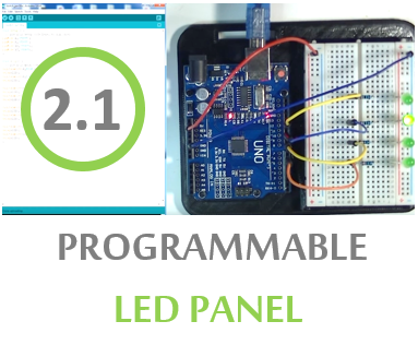 Picture of LED Panel Circuit