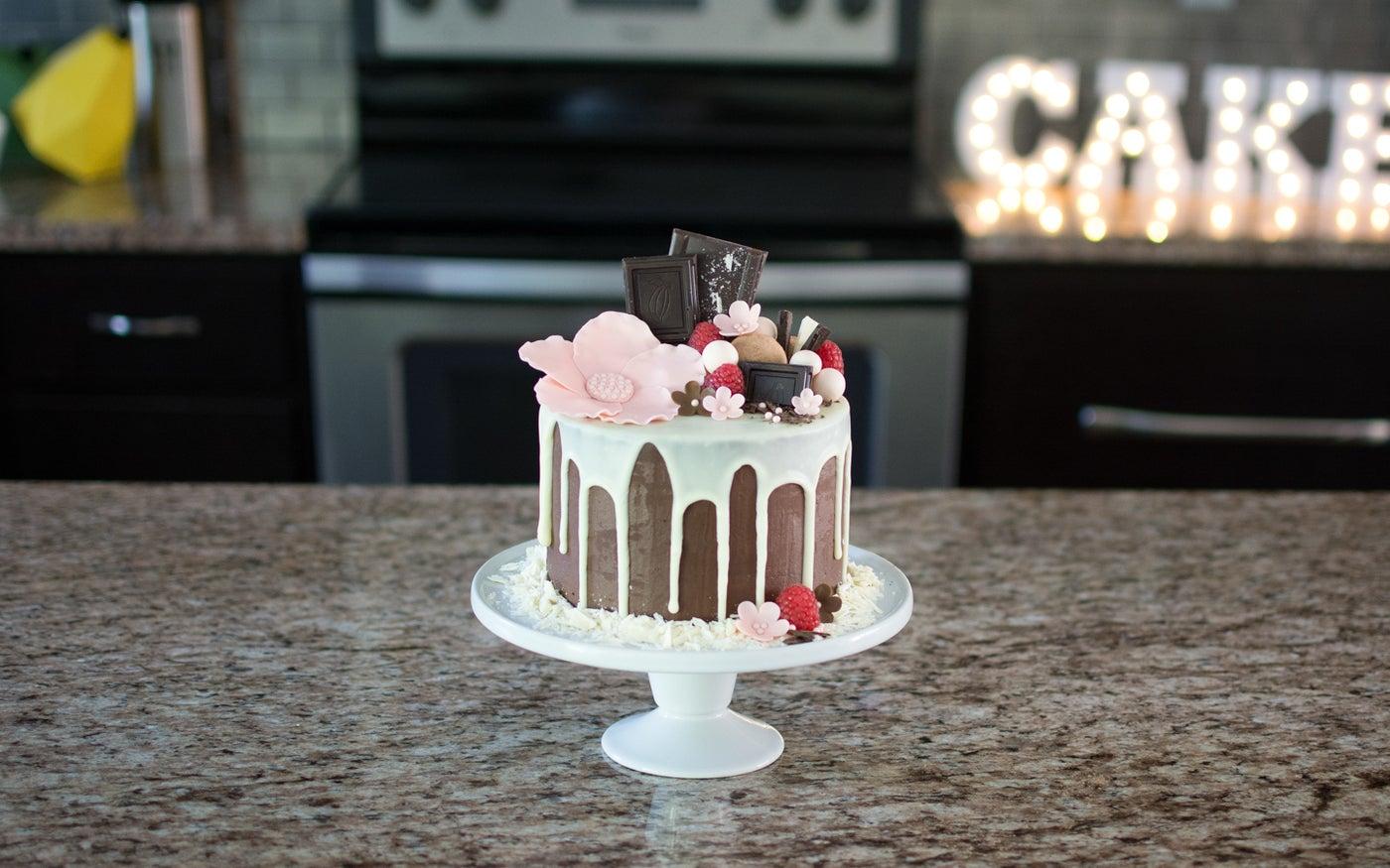 Decorated Drip Cake