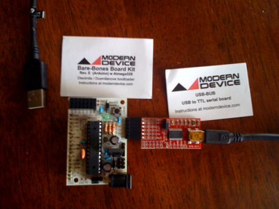 Assemble the BBB Arduino and USB BUB...
