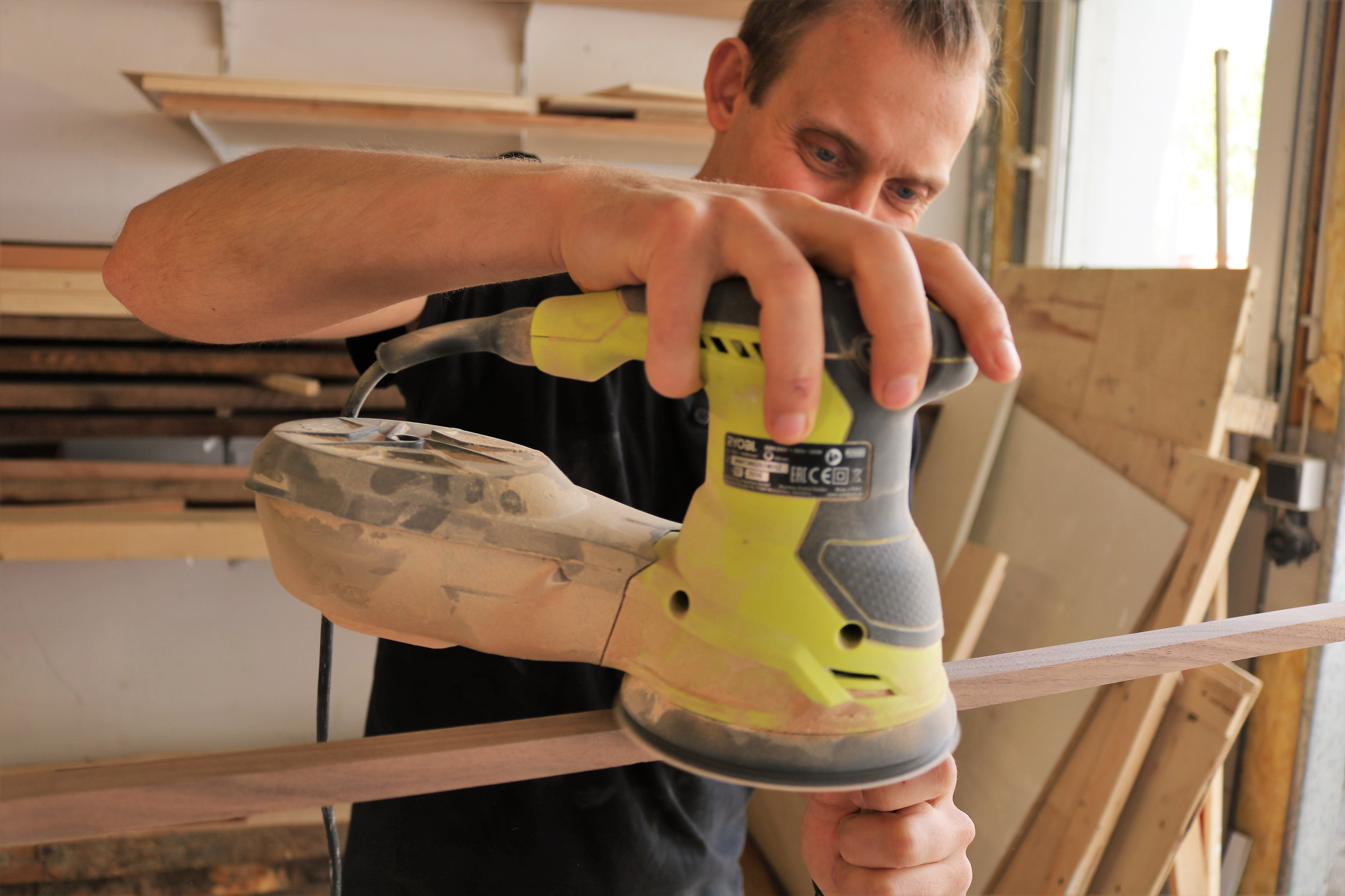 Picture of Sanding Everything