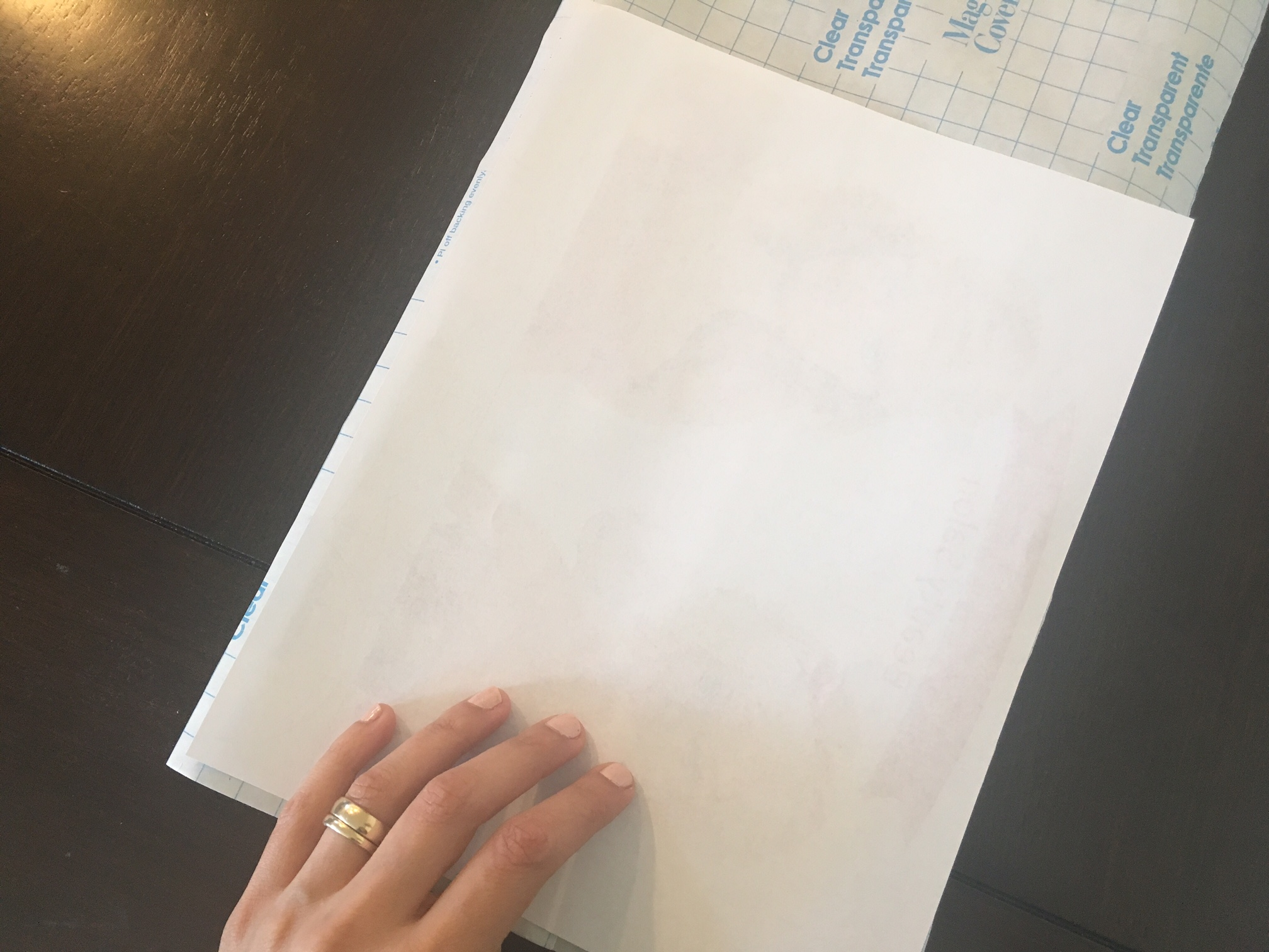 Picture of Cover With Contact Paper