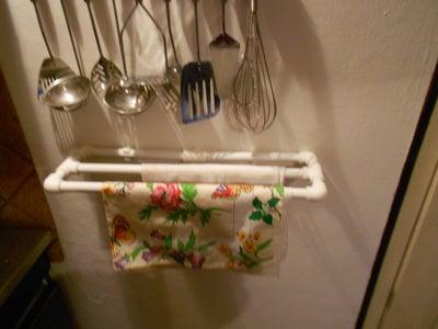 PVC Dishtowel Holder
