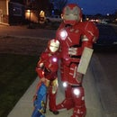 Hulkbuster and Ironman