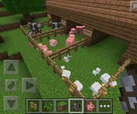 Minecraft Animals Pen