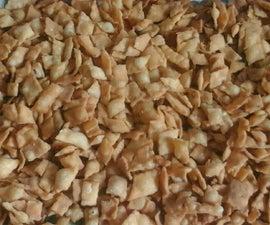 All purpose flour savory snacks in three simple variations.
