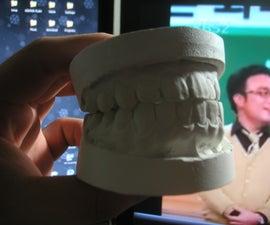 Make teeth mold for Halloween Teeth