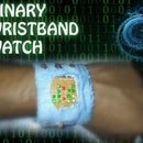 Binary Wrist-Band Watch