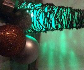 Rustic Rope Christmas Tree