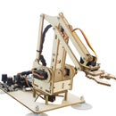How to Use a Few Pieces of Wood to Assemble Into a Cute and Powerful Wood Robot Arm