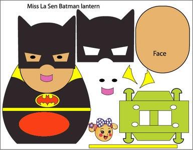 Miss La Sen Batman Lantern