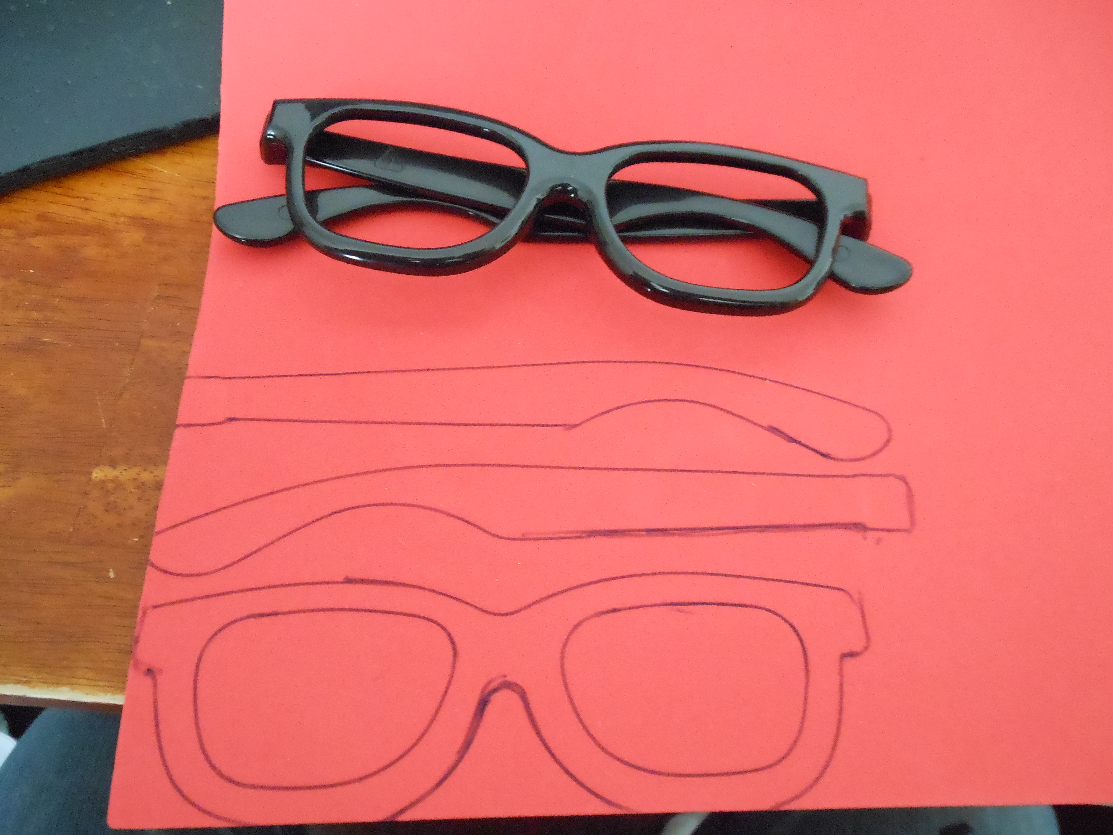 Picture of Step 2: Anime Glasses!!